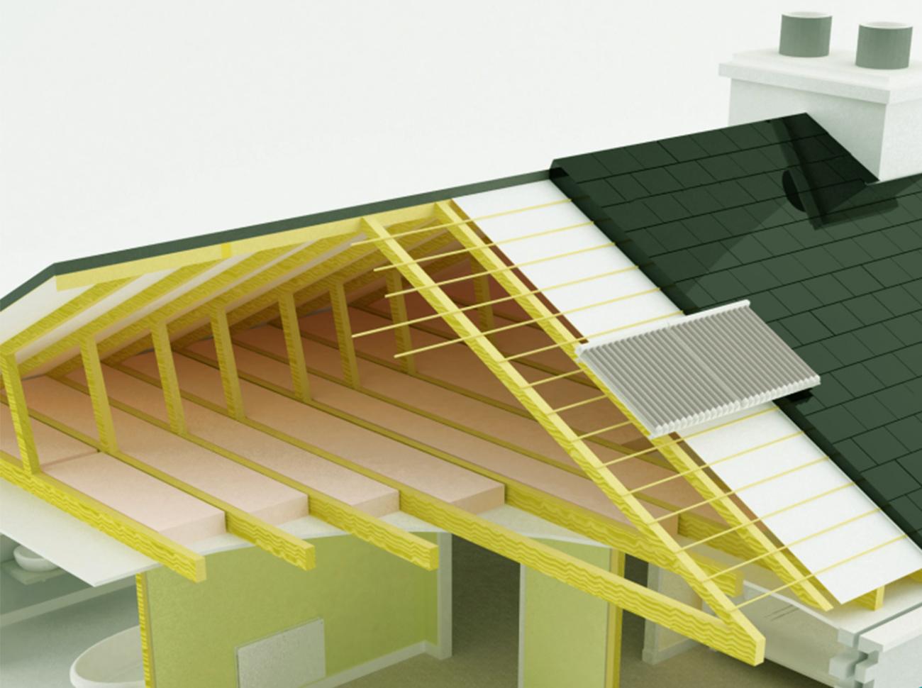 Location de toiture avec panneaux photovoltaïques